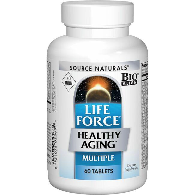 Source NaturalsLife Force Healthy Aging Multiple - No Iron