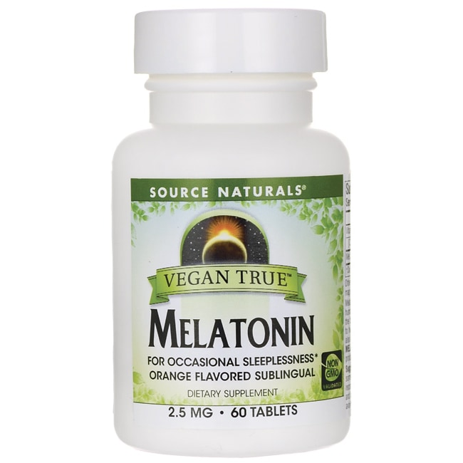 Source NaturalsVegan True Melatonin