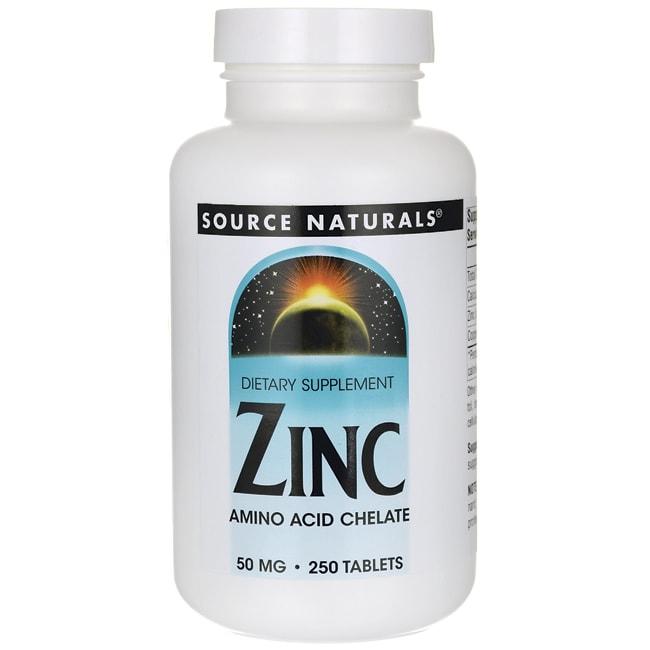 Source NaturalsZinc Amino Acid Chelate