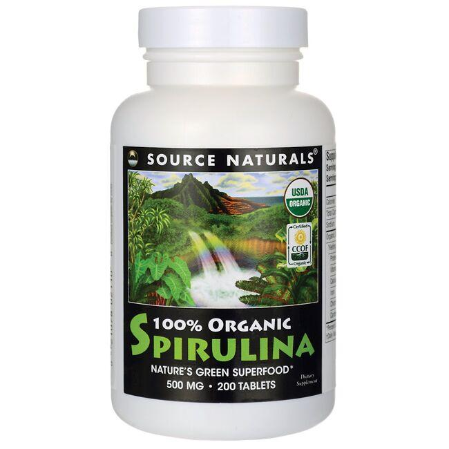 Source Naturals100% Organic Spirulina