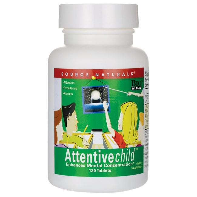 Source NaturalsAttentive child