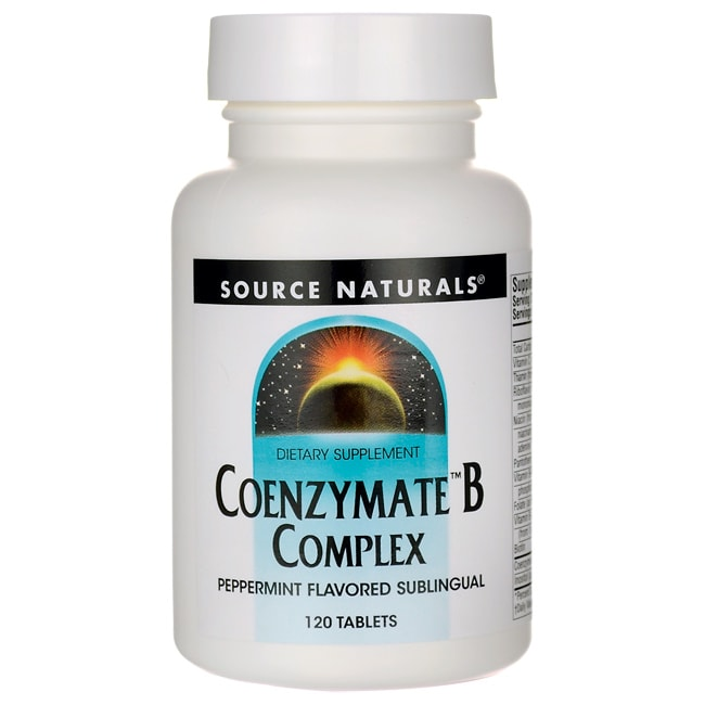 Source NaturalsCoenzymate B Complex - Peppermint Flavored Sublingual