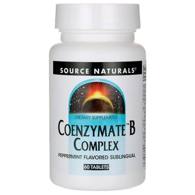 Source Naturals Coenzymate B Complex - Peppermint Flavored Sublingual