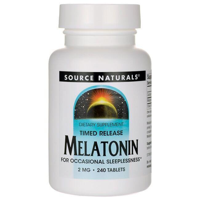 Source NaturalsTimed Release Melatonin