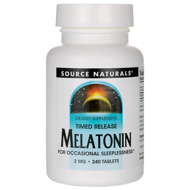 Source NaturalsTimed Release Melatonin