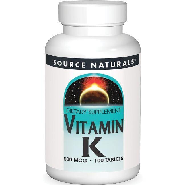 Source NaturalsVitamin K