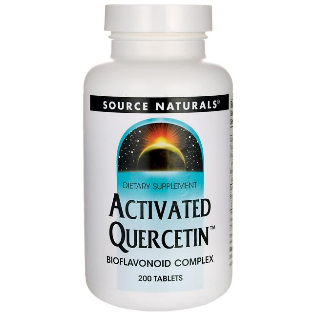 Source Naturals Activated Quercetin Bioflavonoid Complex