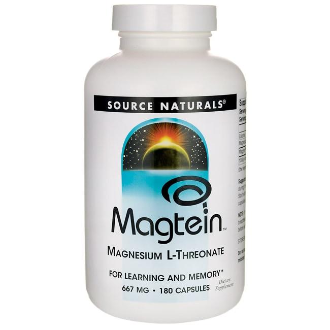 Source NaturalsMagtein Magnesium L-Threonate