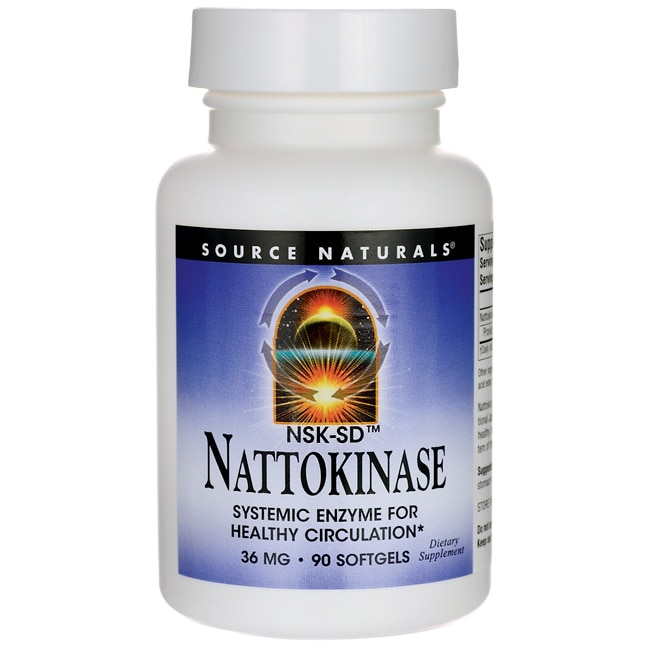 Source NaturalsNattokinase
