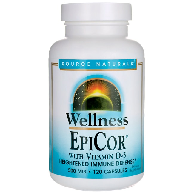 Source NaturalsWellness EpiCor with Vitamin D-3