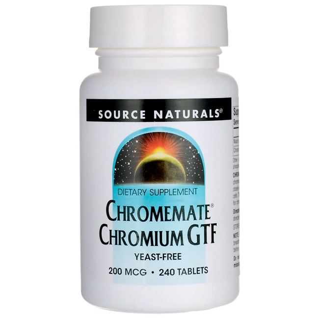 Source NaturalsChromemate Chromium GTF