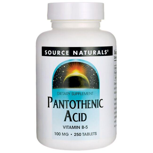 Source Naturals Pantothenic Acid