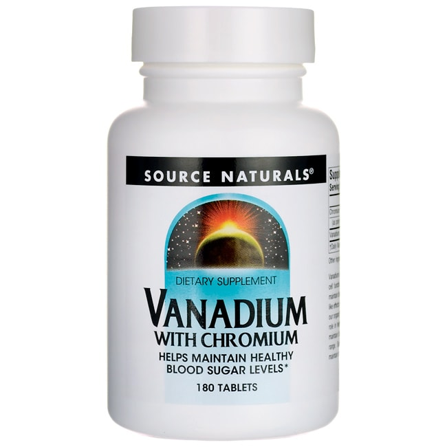 Source NaturalsVanadium with Chromium