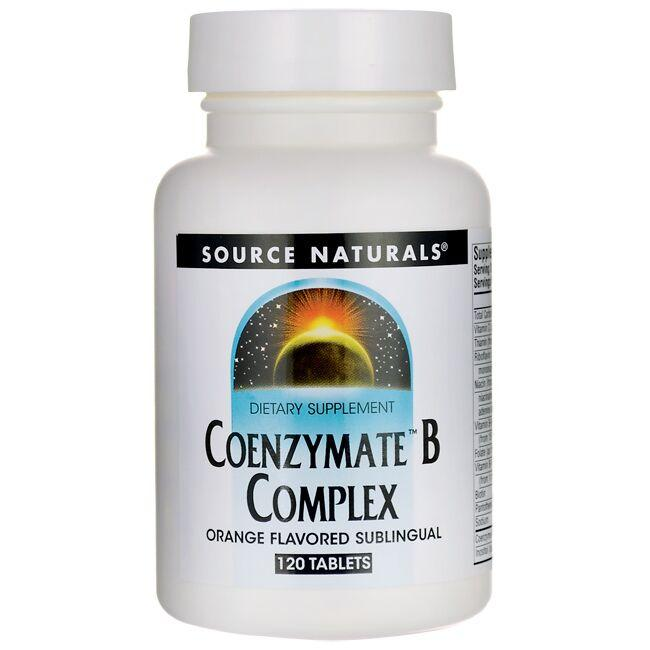 Source Naturals Coenzymate B Complex - Orange Flavored