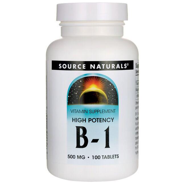 Source NaturalsHigh Potency B-1
