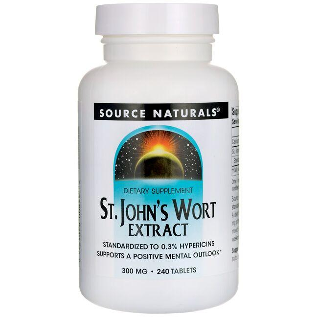 Source NaturalsSt. John's Wort Extract
