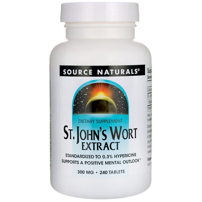Source NaturalsSt. John's Wort Extract