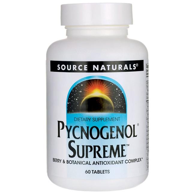 Source NaturalsPycnogenol Supreme