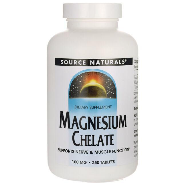 Source NaturalsMagnesium Chelate