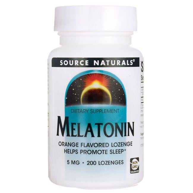 Source Naturals Melatonin - Orange