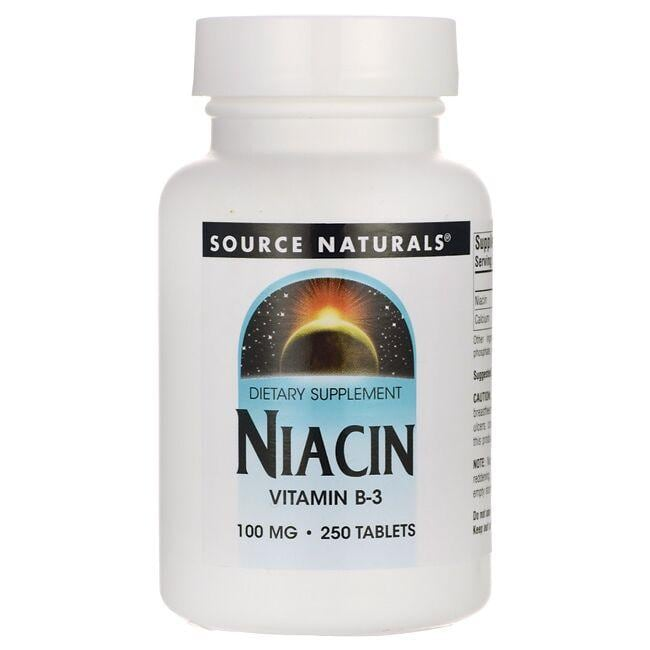 Source NaturalsNiacin Vitamin B-3