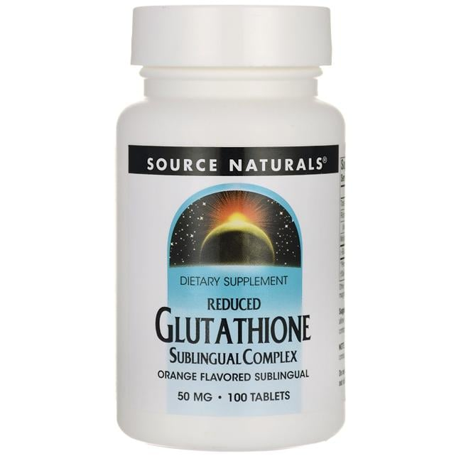 Source NaturalsReduced Glutathione - Orange Flavor