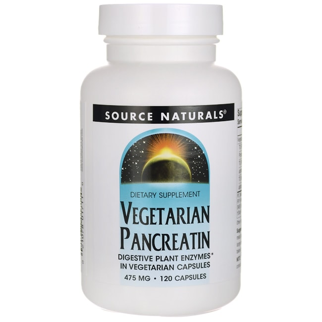 Source NaturalsVegetarian Pancreatin