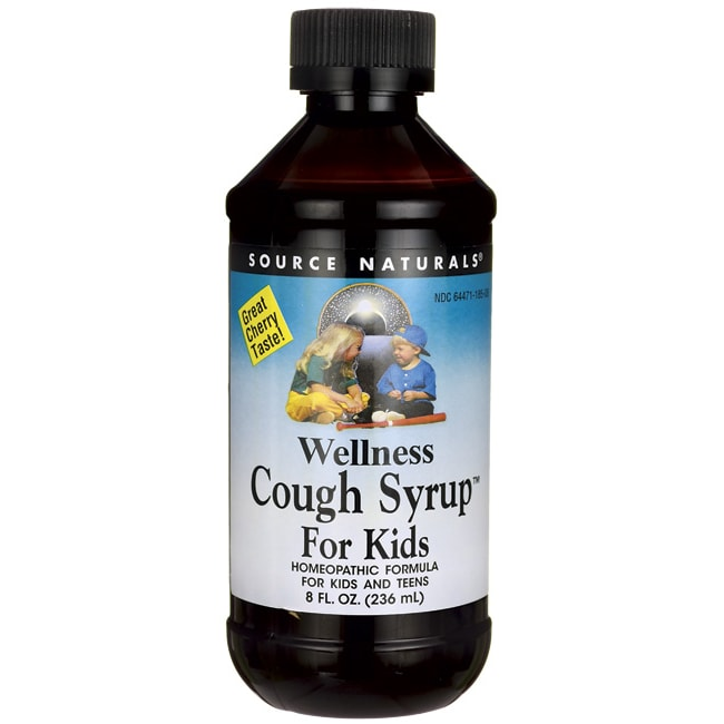 Source NaturalsWellness Cough Syrup For Kids - Cherry