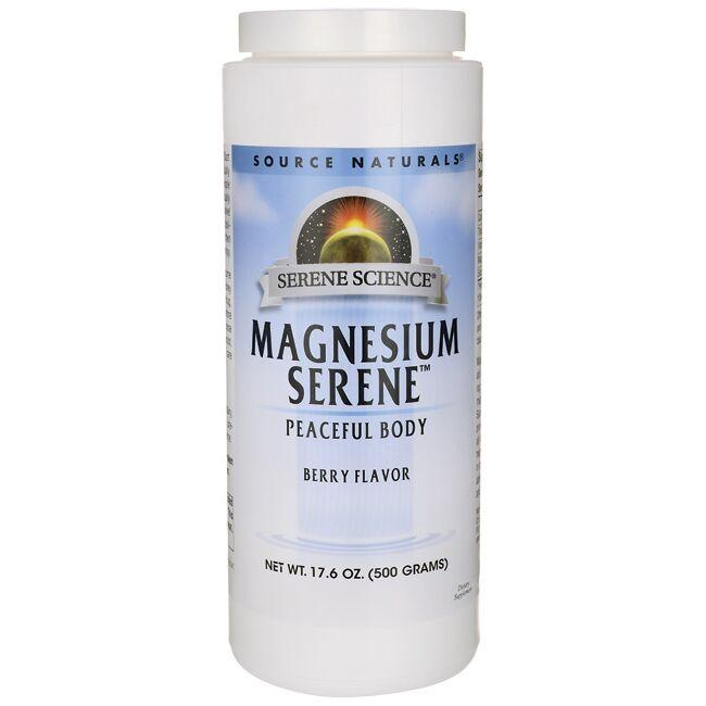Source Naturals Serene Science Magnesium Serene - Berry Flavor