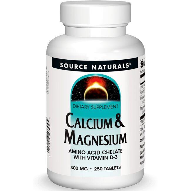 Source NaturalsCalcium & Magnesium Amino Acid Chelate with Vitamin D-3