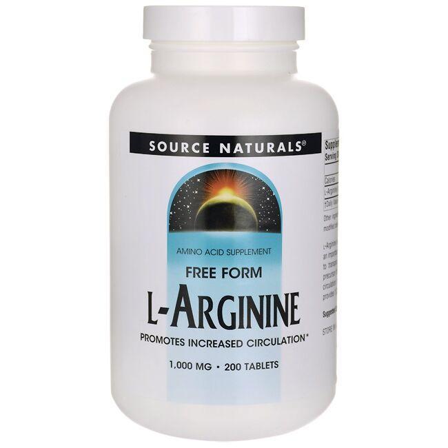 Source NaturalsFree Form L-Arginine