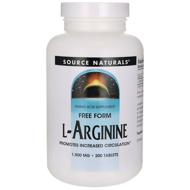 Source NaturalsFree Form L-Arginine