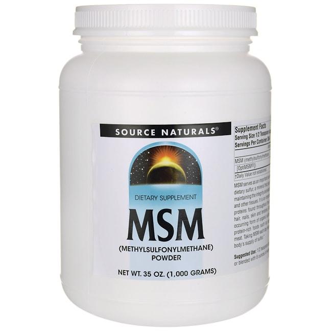 Source NaturalsMSM