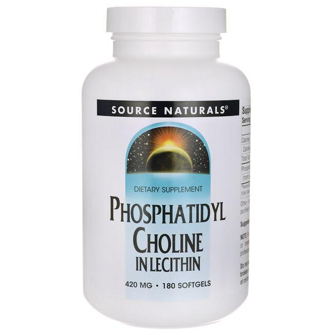 Source NaturalsPhosphatidyl Choline In Lecithin