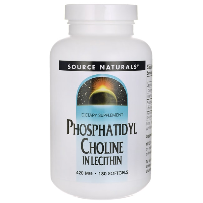 Source NaturalsPhosphatidyl Choline In Lecithin