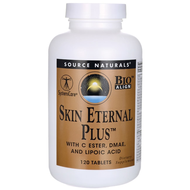 Source NaturalsSkin Eternal Plus with C Ester, DMAE, and Lipoic Acid