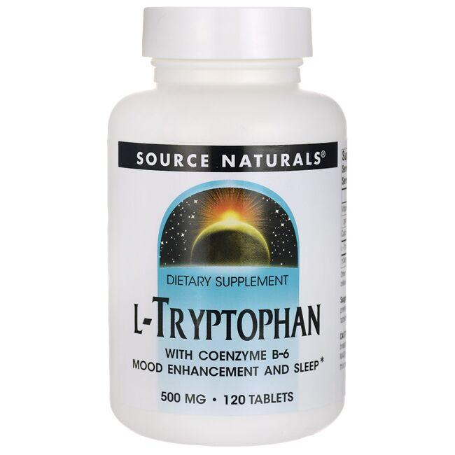 Source NaturalsL-Tryptophan with Coenzyme B-6