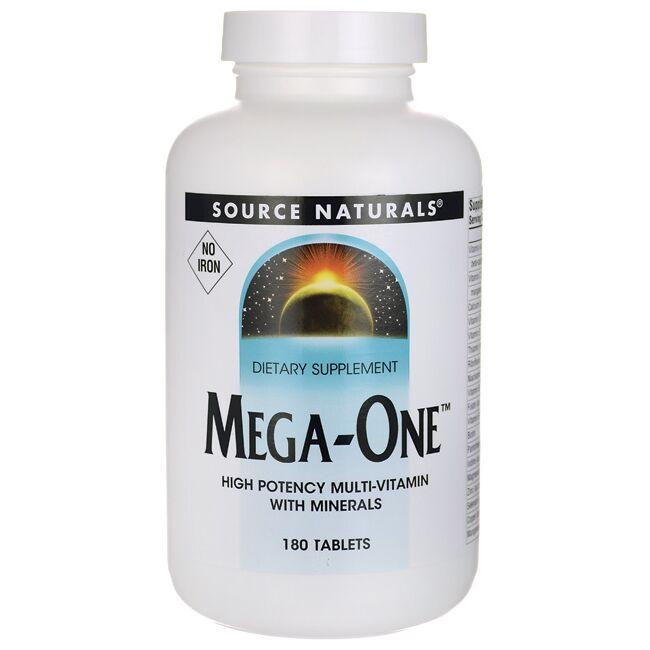 Source Naturals Mega-One - No Iron