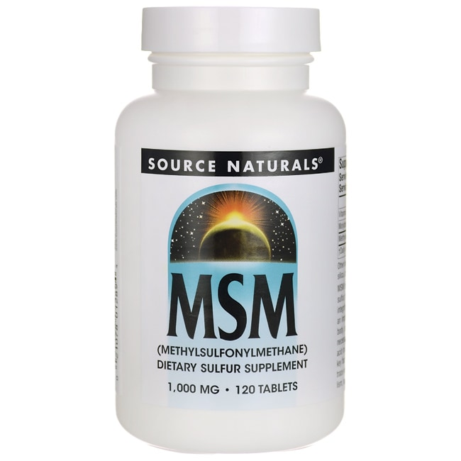 Source NaturalsMSM