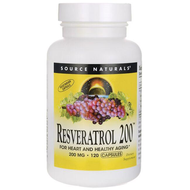 Source NaturalsResveratrol 200