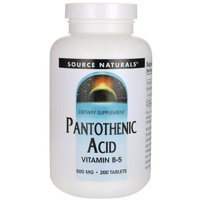 Source Naturals Pantothenic Acid Vitamin B-5