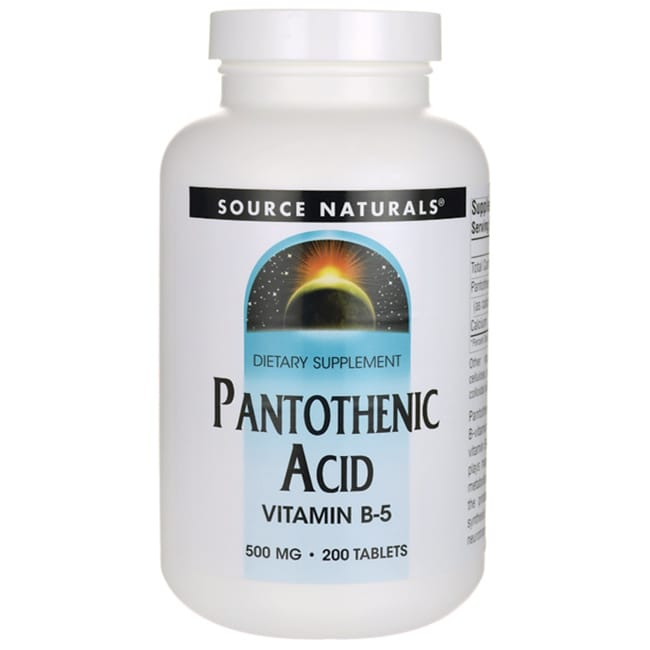 Source NaturalsPantothenic Acid Vitamin B-5