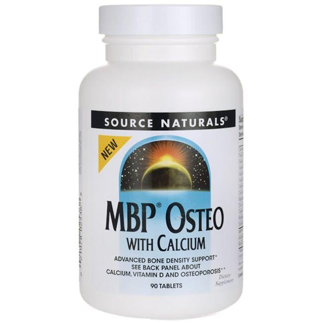 Source NaturalsMBP Osteo with Calcium