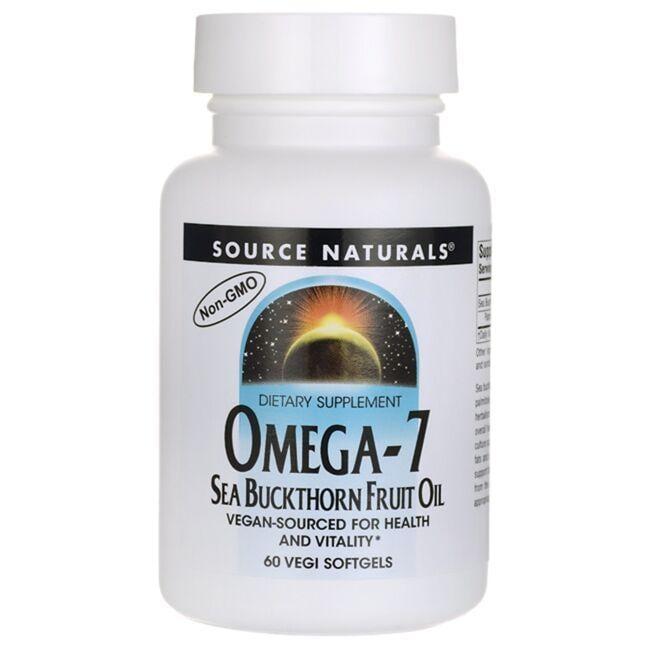 Source NaturalsOmega-7 Sea Buckthorn Fruit Oil