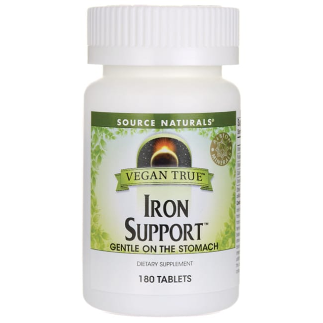 Source NaturalsVegan True Iron Support