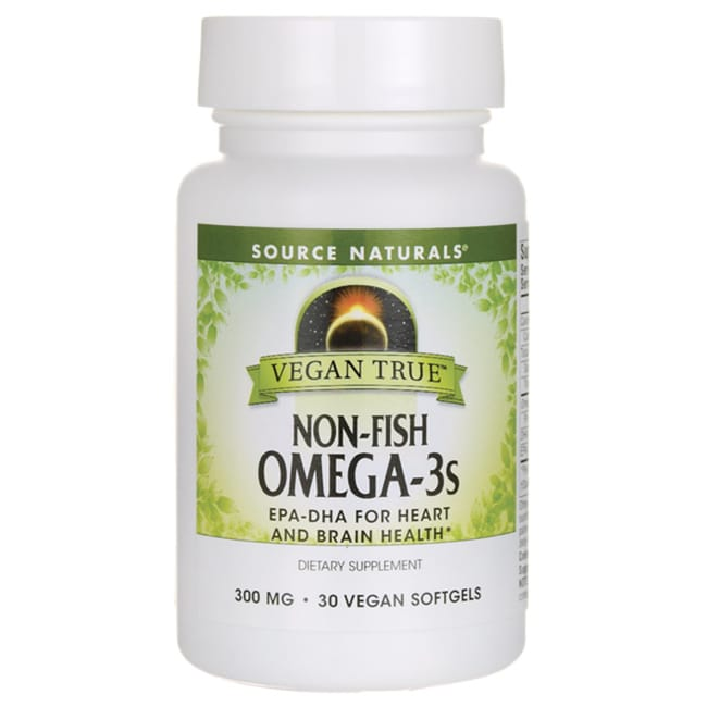 Source NaturalsVegan True Non-Fish Omega-3s