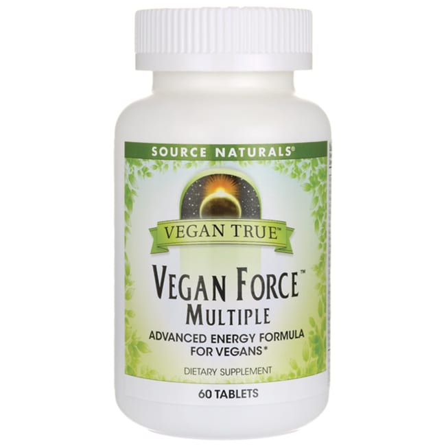 Source NaturalsVegan True Vegan Force Multiple