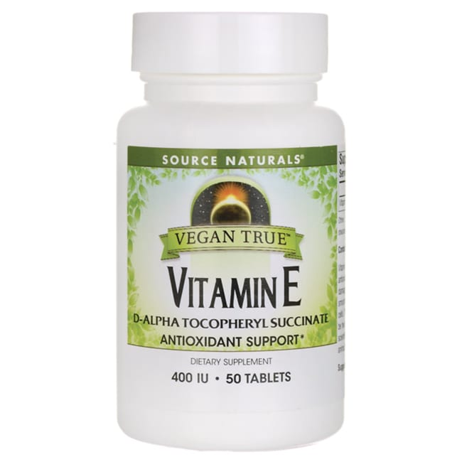 Source NaturalsVegan True Vitamin E
