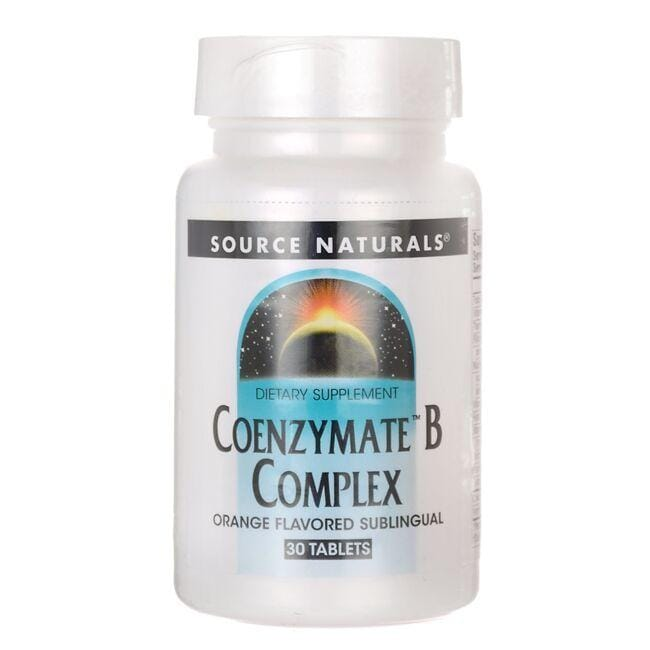 Source Naturals Coenzymate B Complex - Orange