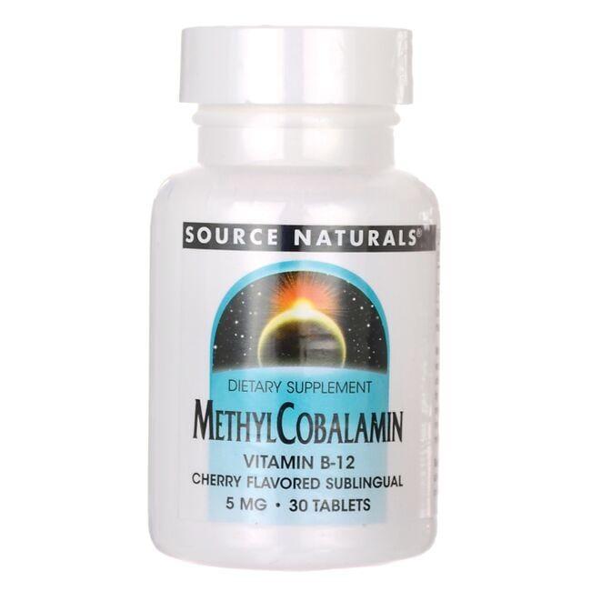 Source NaturalsMethylCobalamin Vitamin B-12 - Cherry